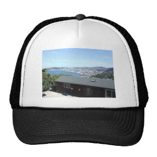 View Of The City With Mountains In Sun Shine Hats