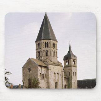 View of the Clocher de l'Eau Benite Mouse Pad