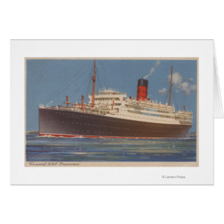 View of the Cunard R.M.L. Franconia Card