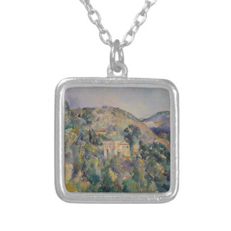 View of the Domaine Saint-Joseph Silver Plated Necklace