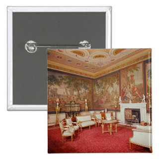 View of the drawing room 15 cm square badge