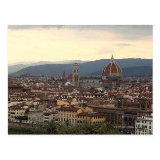 View of the Duomo Santa Maria Del Fiore in Postcard