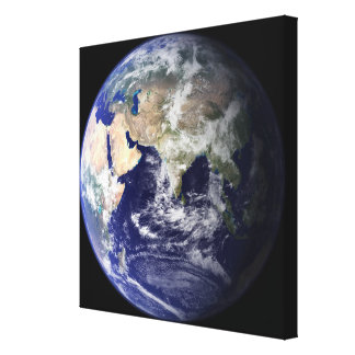 View of the Earth from space Canvas Print