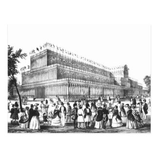 View of the Exterior of the Crystal Palace Postcard
