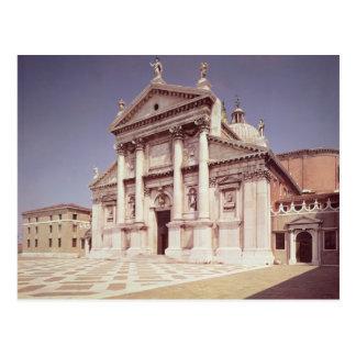 View of the facade, built 1607-11 postcard