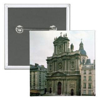 View of the facade built 1627-41 button