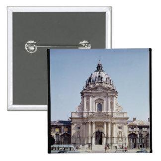 View of the facade of Val-de-Grace Pinback Button