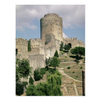 View of the Fortress, started in 1452 Postcard