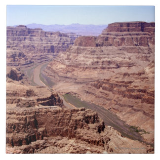 View of the Grand Canyon, Arizona Tile