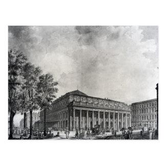 View of the Grand Theatre, Bordeaux Postcard