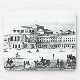 View of the Grand Theatre, Warsaw Mouse Pad