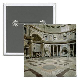 View of the interior 15 cm square badge