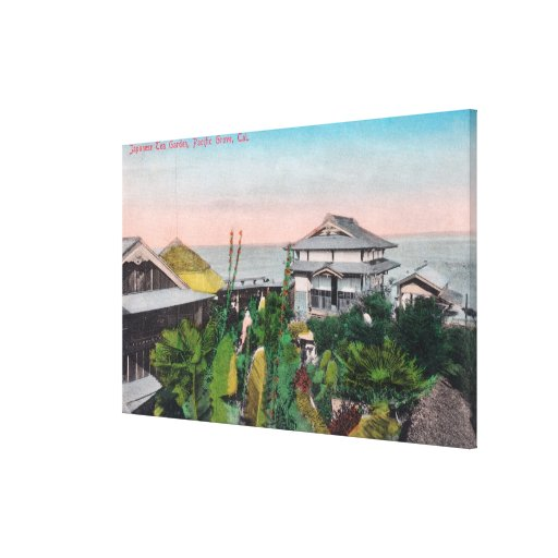 View of the Japanese Tea Garden Canvas Prints
