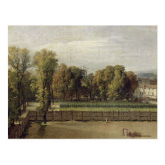 View of the Luxembourg Gardens in Paris, 1794 Postcard