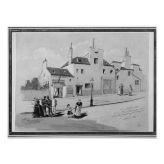 View of the Maternite Port-Royal, August 1886 Poster