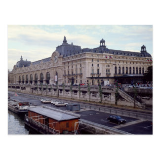 View of the Musee d'Orsay from the north-west Postcard
