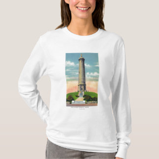 View of the Myles Standish Monument # 2 T-Shirt