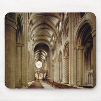 View of the nave, built 1093-1289 mouse pad