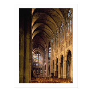 View of the nave looking east (photo) postcard