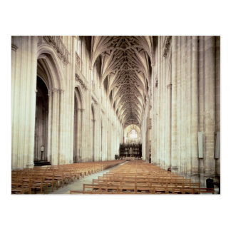 View of the nave, remodelled by William of Postcard