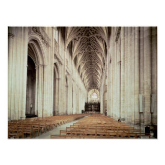 View of the nave, remodelled by William of Poster