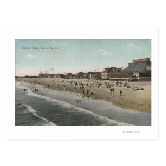 View of the Ocean Front Postcard