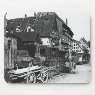 View of the Old Quarter, Ulm, c.1910 Mouse Pad
