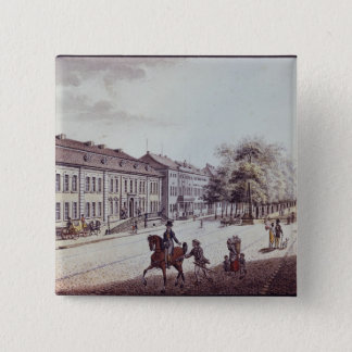 View of the Opera House, Berlin 15 Cm Square Badge