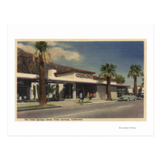 View of the Palm Springs Hotel Postcard