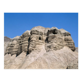 View of the Qumran Caves Postcard