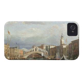 View of the Rialto Bridge in Venice iPhone 4 Cases
