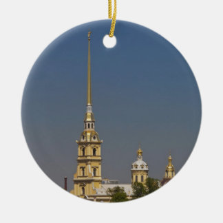 View of the Saints Peter and Paul Cathedral Round Ceramic Decoration