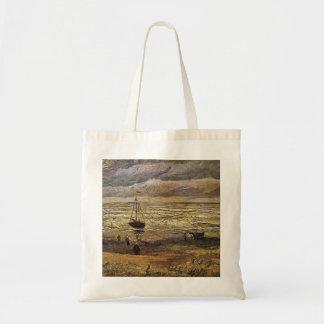 View of the Sea at Scheveningen by van Gogh Bag