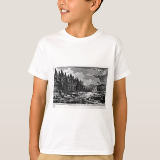 View of the site where was the ancient Roman Forum T-Shirt