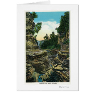 View of the Southern Entrance Gorge Greeting Card