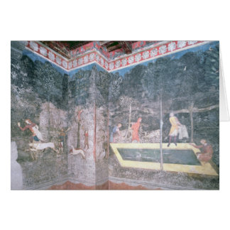 View of the Stag Room, 1343 Greeting Card