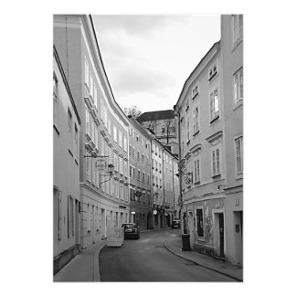 View of the strange street of Salzburg Photo Print
