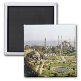View of the Sultan Ahmet Camii  built 1609-16 Magnet