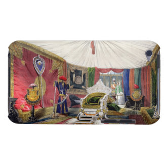 View of the tented room and ivory carved throne, i iPod touch cases