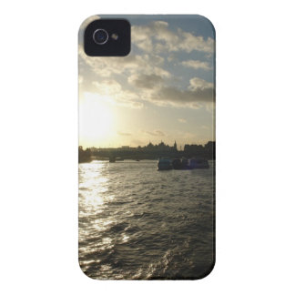 View of the Thames at sunset iPhone 4 Case-Mate Cases