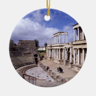 View of the theatre, begun 24 BC (photo) 5 Ceramic Ornament