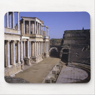 View of the theatre, begun 24 BC (photo) Mouse Pad