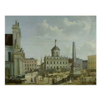 View of the Town Hall, 1772 Postcard