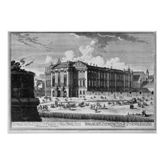 View of the Trautson Palace built for Count Poster