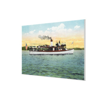 View of the US Mail Boat Uncle Sam Gallery Wrap Canvas