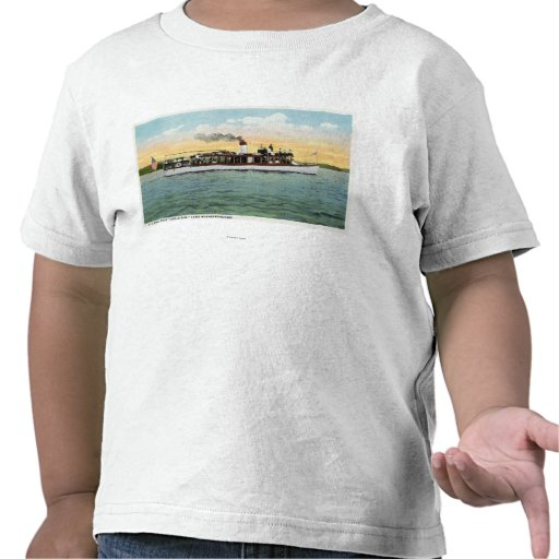 View of the US Mail Boat Uncle Sam T Shirt