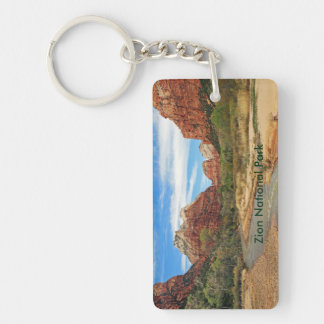 View of the Virgin River 2 Key Ring