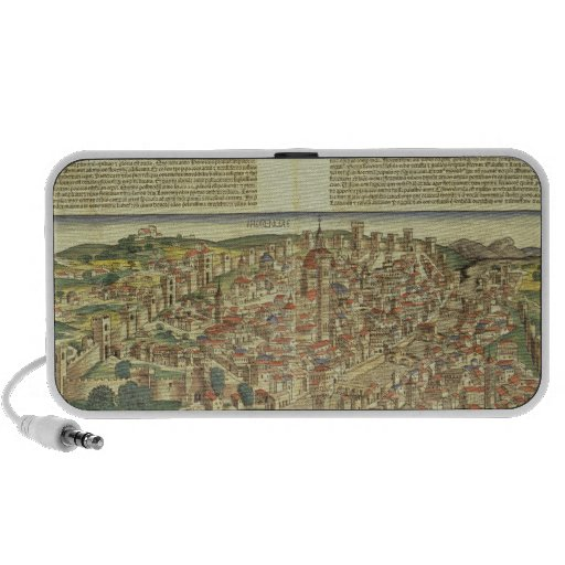 View of the walled city of Florence, from the Nure PC Speakers