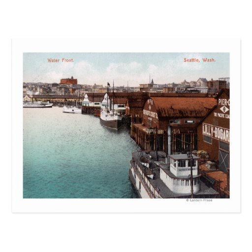 View of the Waterfront Postcard
