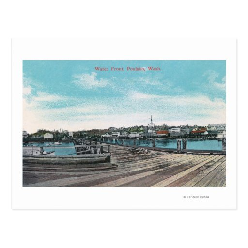 View of the Waterfront Post Cards